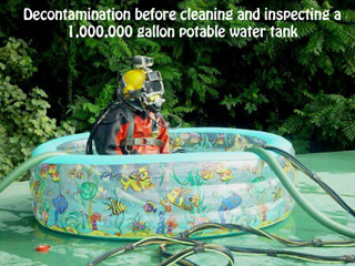 Pacific underwater construction commercial diving bend oregon - Innovative water decontamination project ...